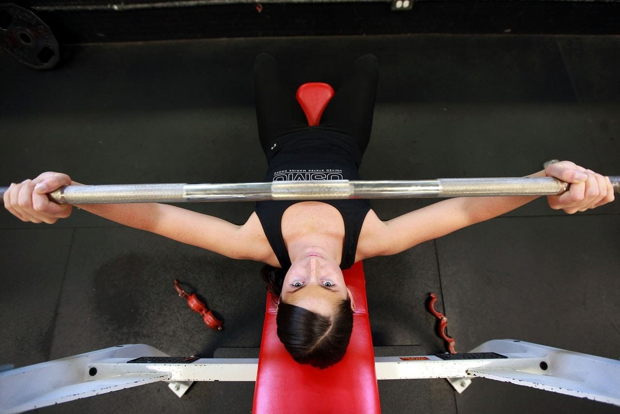 top chest exercises for women