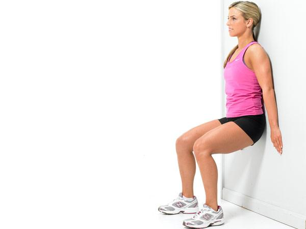 wall sit exercises
