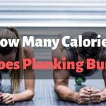 how many calories does planking burn