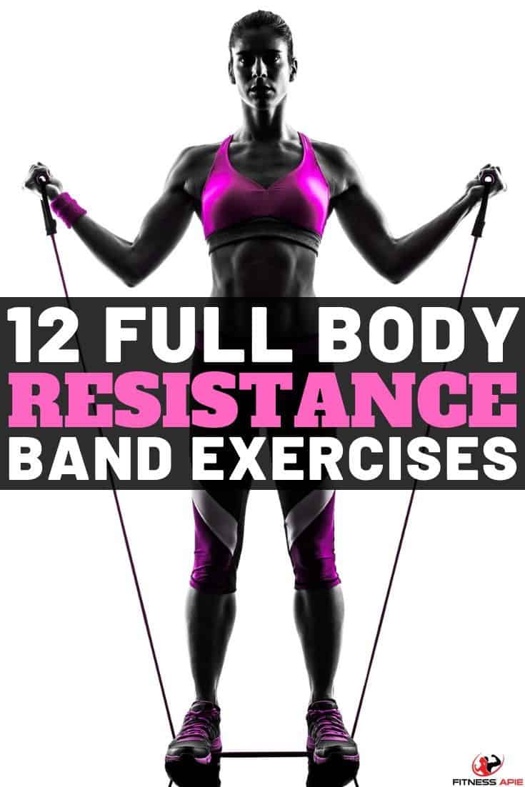 full body resistance band exercises