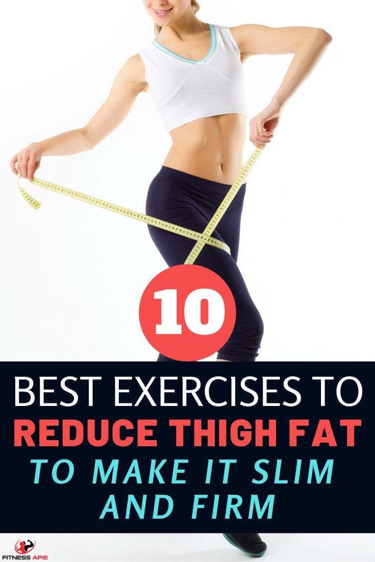 A big part of being able to tone your legs is having the right exercises to target your thighs and help to reduce thigh fat. You want exercises that are going to be able to target your thighs specifically. Here are 10  best exercises to reduce thigh fat and help you slim and firm your thighs. For these exercises, don\'t feel like you need to do each one every time you go to the gym. Instead, use them on a rotating basis to continue to challenge yourself and see results. #thighexercises #workout