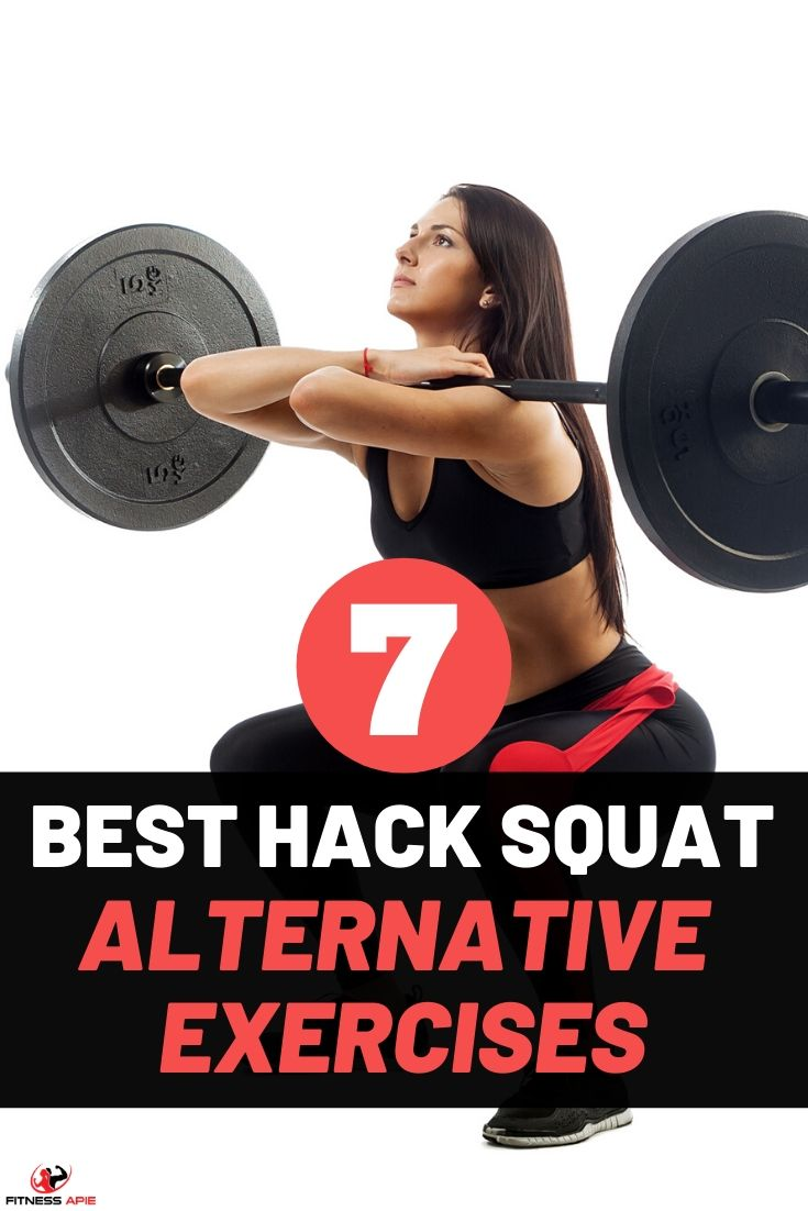 Hack squats workout is a very good technique for developing your lower body parts. However, have in mind that hack squat routines are not for everyone since they could be dangerous. But there is always a hack squat alternative for you to use. In this article, we have included incredible alternatives for you. They work great and achieve the same results. #hacksquats #exercises #hacksquatalternative #workout