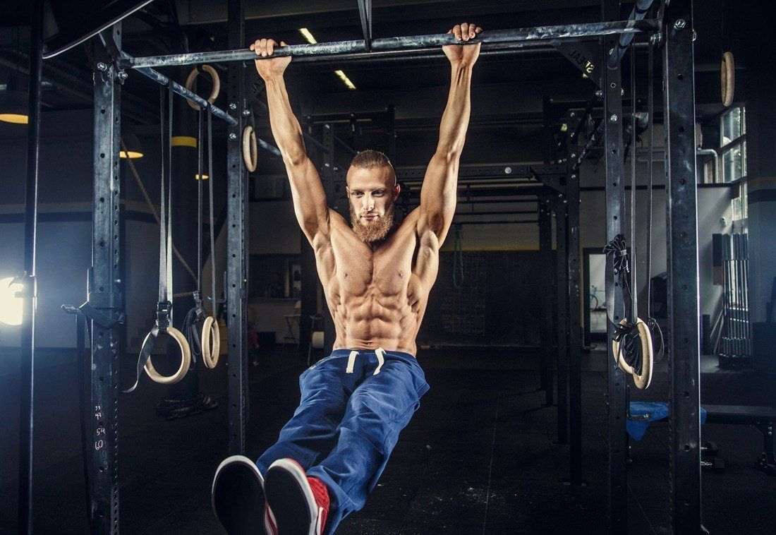 do pull ups work abs