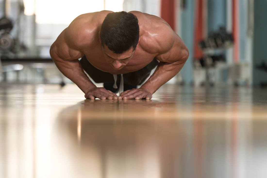 diamond push ups benefits