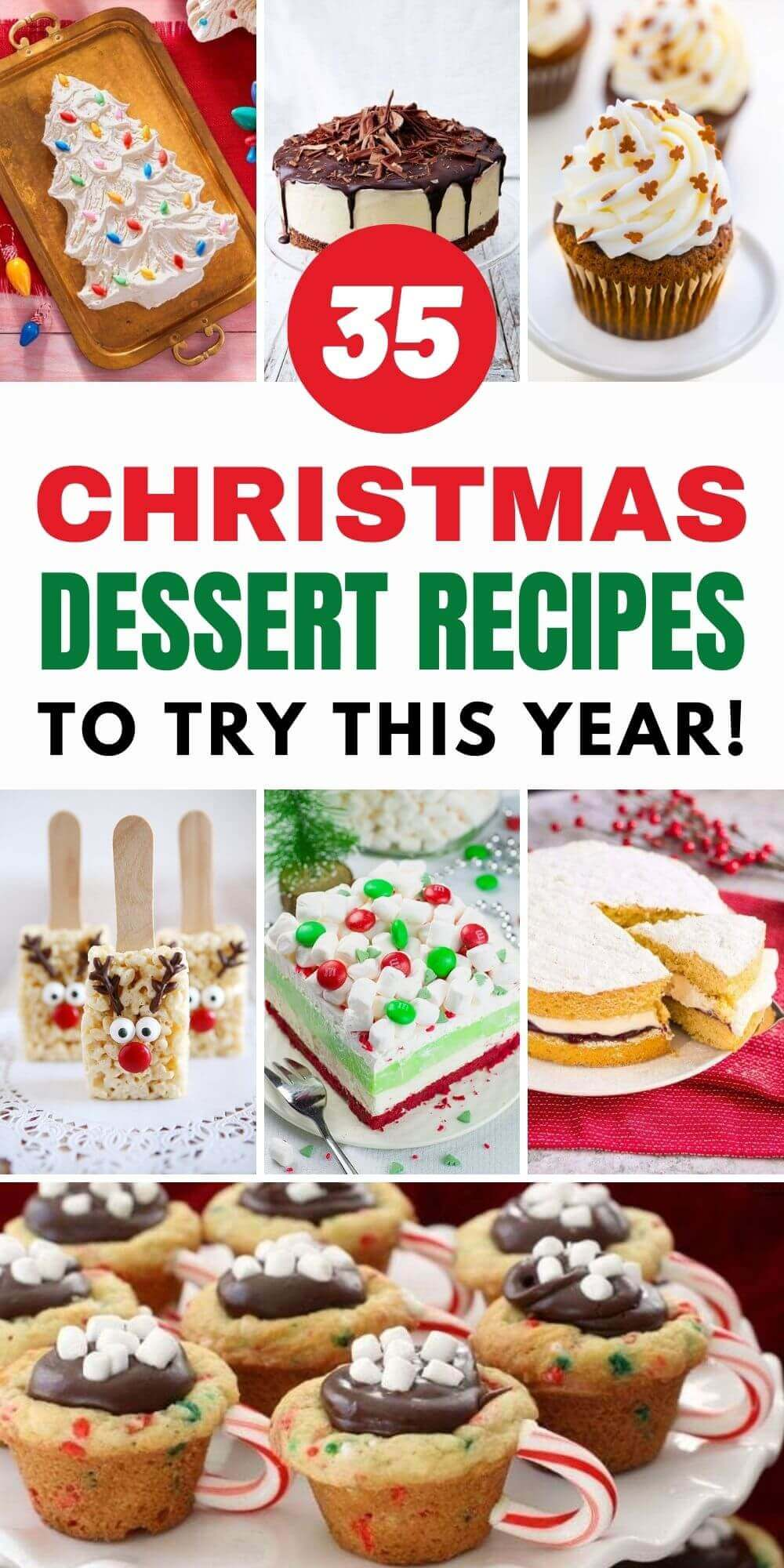 35 Christmas Dessert Recipes To Try This Year